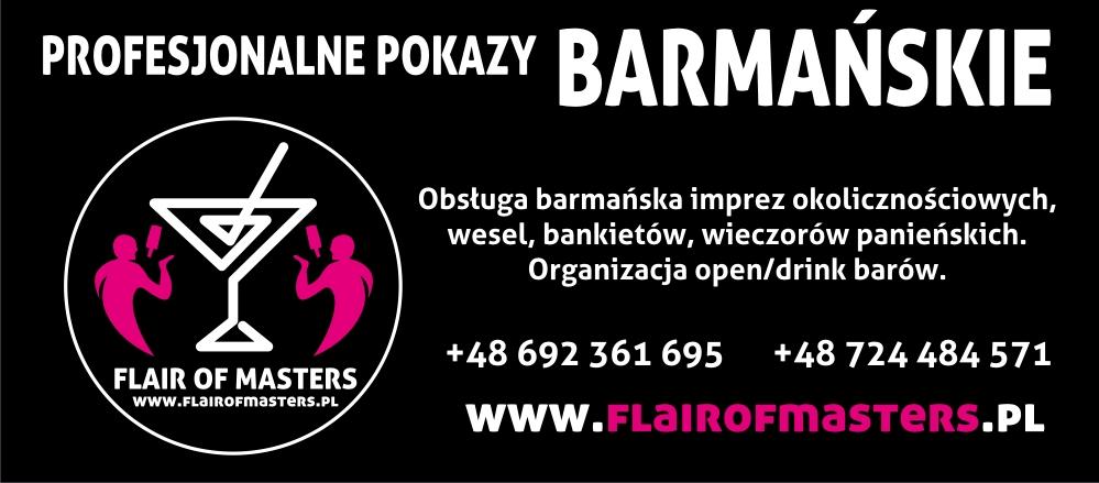 Pokazy barmańskie, drink bar- Krosno (FLAIR of MASTERS)